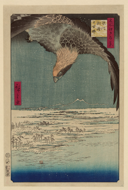 19th Century Japanese Woodblock Prints - Archival 'Giclee' prints on 'washi' paper