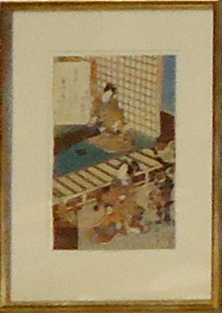 A.99 Toyokuni. Chuban. Scene from 'Tales of Genji'